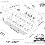 Paradise RV Campground and Park Map, Parksville, Vancouver Island, BC